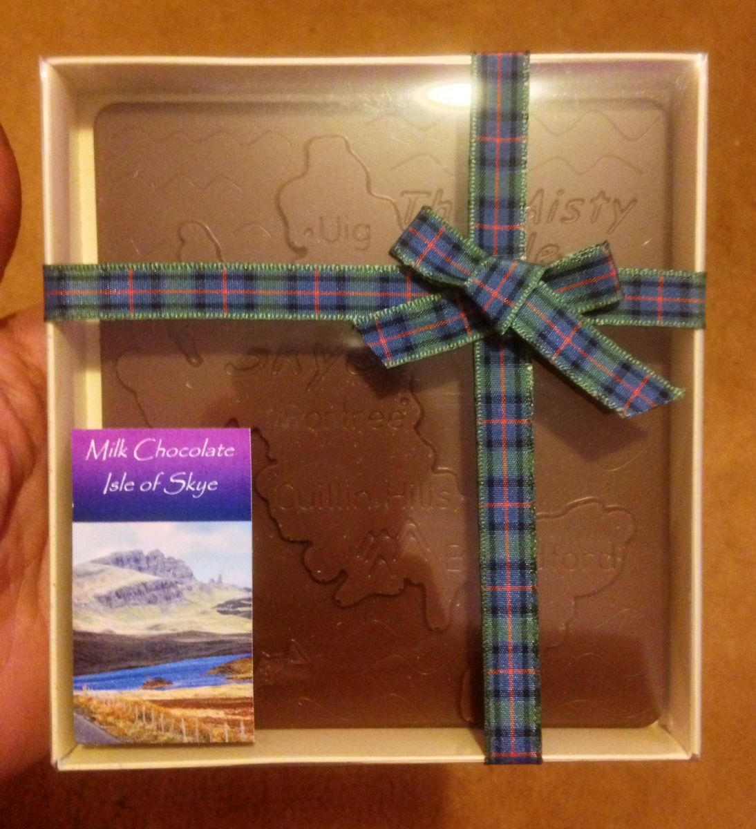 Isle Of Skye Milk Chocolate Map